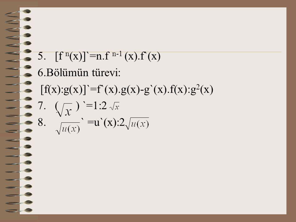 [f n(x)]`=n.f n-1 (x).f`(x)